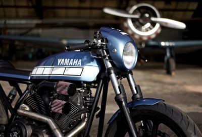 El Ratòn Asesino: Yamaha XV950 Yard Built by Walz