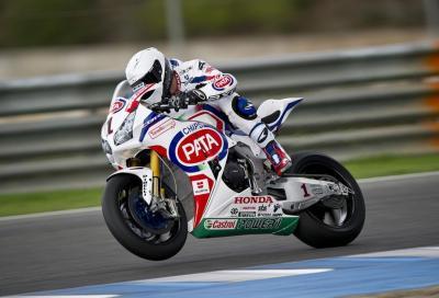 Guintoli sulla Honda SBK: video e impressioni di Sylvain