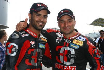 Lanzi e Fores punte Ducati nell'IDM 2015, Neukirchner con Yamaha