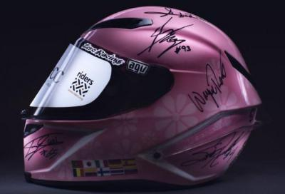 "Beneficenza: battuto all'asta per 255.000 euro il casco ""Stop Cancer"""