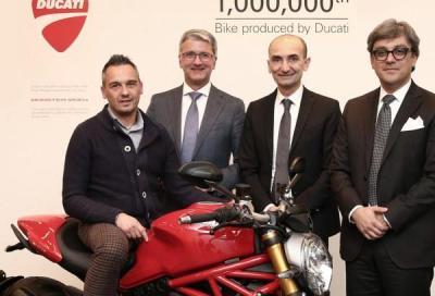 La Ducati n° 1.000.000 prodotta è una Monster 1200 S