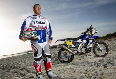 Alessandro Botturi è pronto alla sua prima Dakar in Yamaha