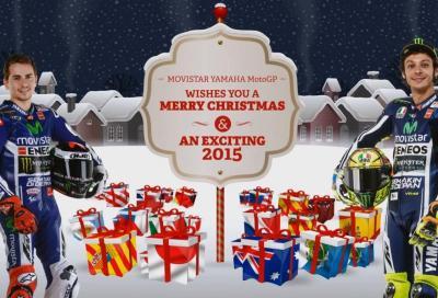 Tanti auguri di buon Natale dal team Yamaha MotoGP