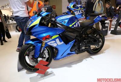 Suzuki GSX-R 750 2015: solo Yoshimura e MotoGP look