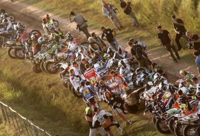 La mega gallery delle moto alla Dakar 2015