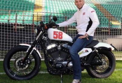 Christian Abbiati mette all'asta una Harley dedicata a Simoncelli