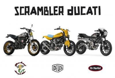 Ducati presenta tre Scrambler special al Motor Bike Expo 2015