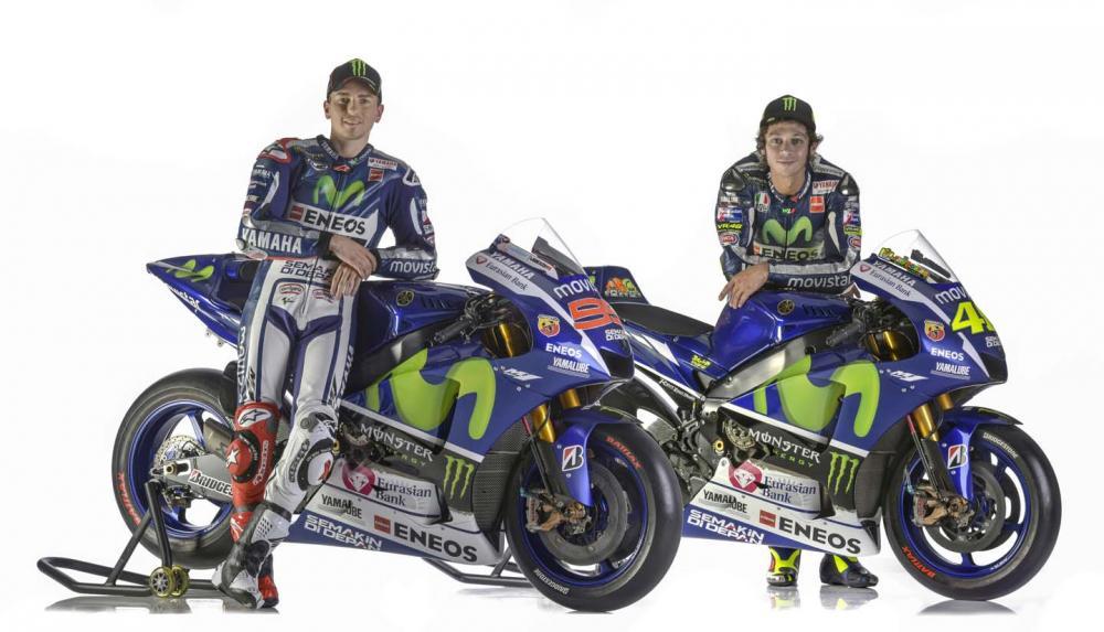 Yamaha Motogp 2015 Rossi Lorenzo La M1 Mega Gallery E Video
