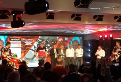 Ducati presenta in diretta streaming il Team ufficiale SBK 2015