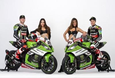 Kawasaki: le immagini ufficiali della Ninja SBK di Sykes e Rea