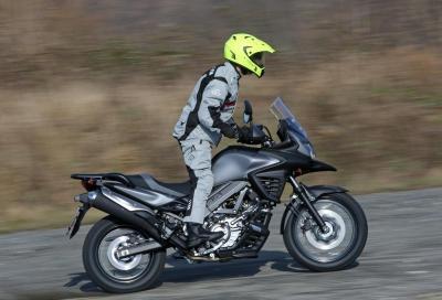La nuova Suzuki V-Strom 650XT in un video