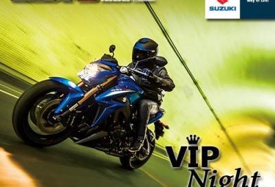 Suzuki Vip Night: le nuove GSX-S1000 e GSX-S1000F dal vivo
