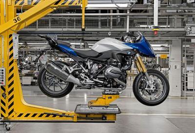 Iniziata la produzione della BMW R 1200 RS