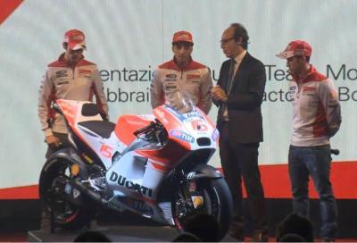 Ducati svela la Desmosedici GP15 in live streaming