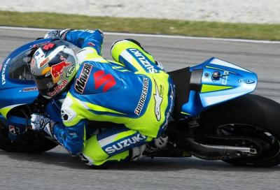 Il video delle Suzuki MotoGP ai test di Sepang