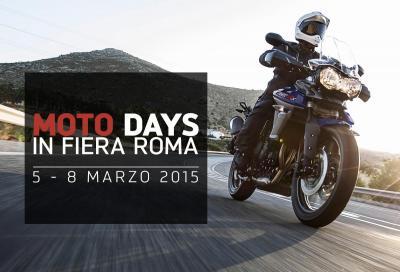 Novità Triumph a Motodays 2015: guardare e... guidare