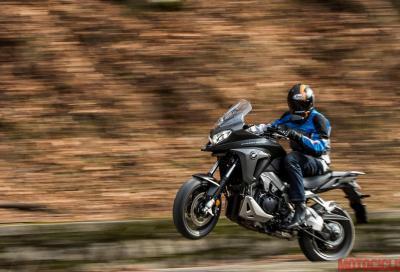 Honda Crossrunner 2015: il video test