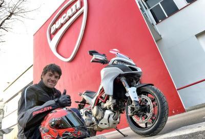 """Carlos Checa: """"La Multistrada 1200 è la moto ideale"""""""