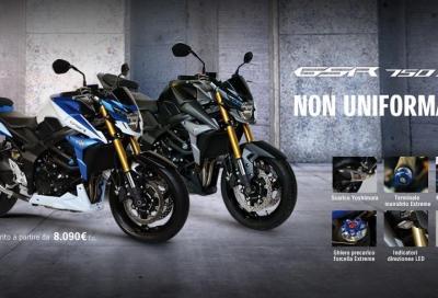 Suzuki: tre new entry nel listino moto e scooter 2015