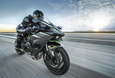 Il listino Kawasaki si aggiorna con Ninja H2R, Z250SL e Z300