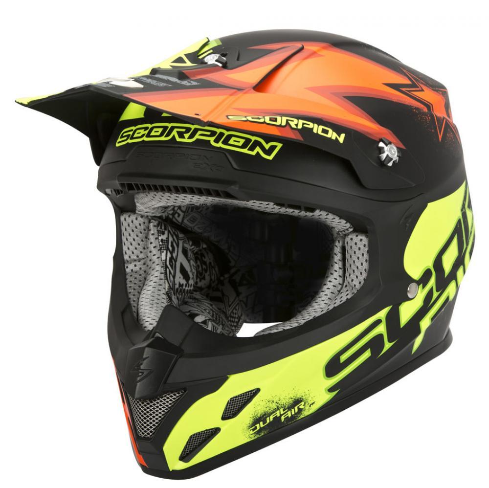 scorpion vx 20 magnus il casco dotato di sistema dual. Black Bedroom Furniture Sets. Home Design Ideas