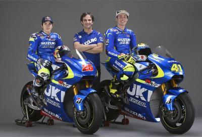 La Suzuki MotoGP 2015 presentata ufficialmente. Nuovo sponsor e grandi sogni