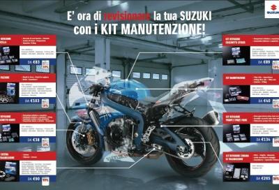 Suzuki Kit Manutenzione: prezzi scontati sui ricambi originali