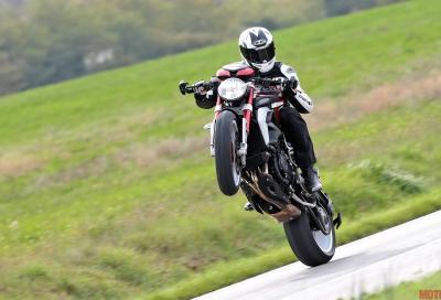 """Fino al 31/3 a Milano super sconti su 7 modelli MV Agusta km """"0"""""""