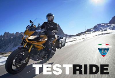 Caponord 1200 Rally: provala col motoclub Pompone