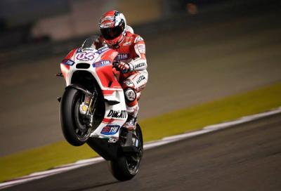 MotoGP test Qatar day 2: Dovizioso 1° con record, poi Marquez e Iannone