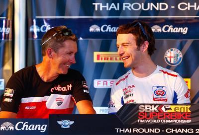La SBK in Thailandia: piloti allo stadio e conferenza con Bayliss