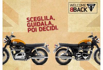 Triumph WelcomeBack: la promozione dedicata alle Bonneville T100