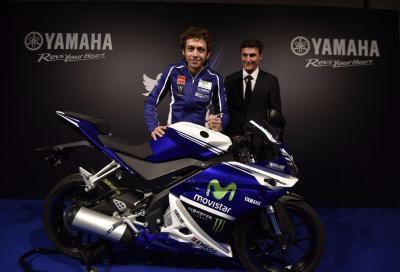 Valentino Rossi, Javier Zanetti e Yamaha: insieme per la solidarietà