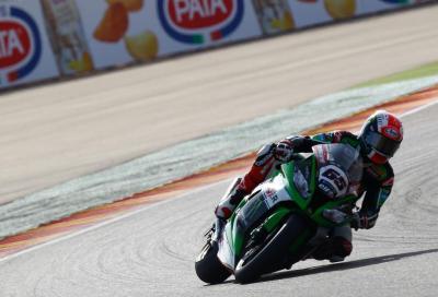 SBK 2015: Rea vince Gara1 in Aragona, Davies (Ducati) 2° per un soffio