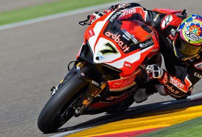 La Ducati torna alla vittoria in SBK: Davies 1° in Gara2 in Aragona