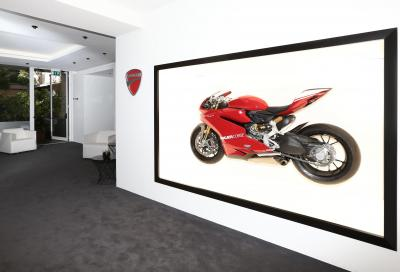Design Week Milano: Ducati presente all'Audi City Lab