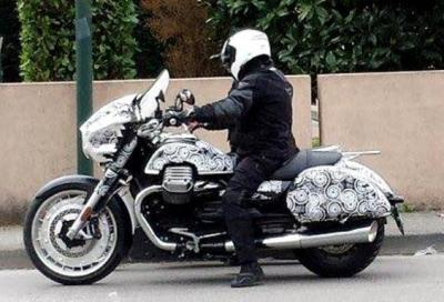 È la Moto Guzzi California 1400 bagger ripresa dal concept MGX-21?