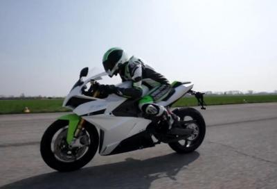 Energica Ego: nello 0-100 km/h la moto elettrica non si batte (video)!