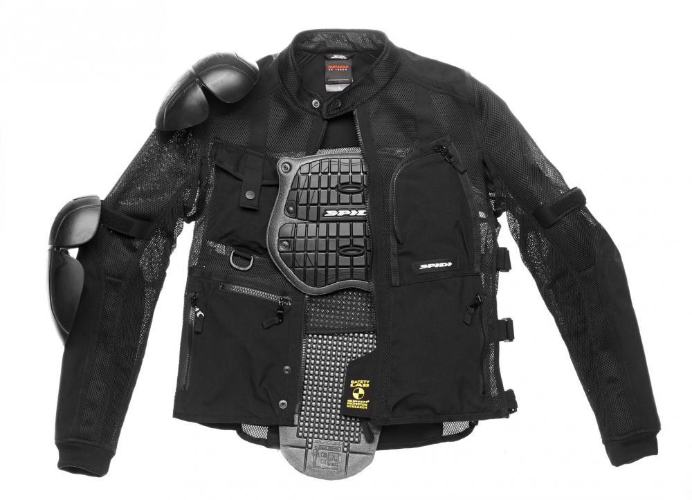 rivenditore online 8a878 eccc5 Giacca estiva Spidi Multitech Armor Evo: traforata e con ...