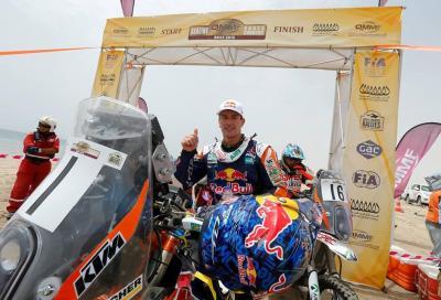 Coma e KTM vincono il Sealine Rally 2015. Honda a podio
