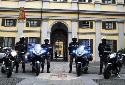MV Agusta Turismo Veloce: due esemplari donati alla Polizia di Milano