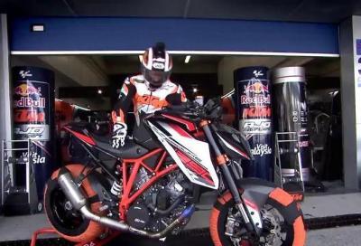 KTM 1290 SuperDuke R: il video di Alex Hofmann a Jerez