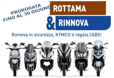 """Kymco """"Rottama e Rinnova"""": in regalo l'ABS!"""
