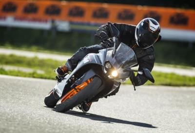 Guida, posta e condividi… puoi vincere una KTM RC 125!