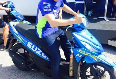 Suzuki Address: in MotoGP con Aleix Espargaro e Maverick Viñales