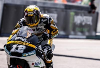 Luthi domina la Moto2 2015 a Le Mans. Bene Morbidelli, 5°