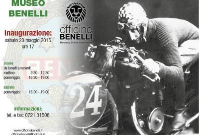 Benelli: sabato 23/5 l'inaugurazione del museo a Pesaro