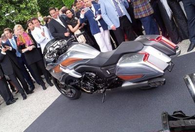 """""""Concept 101"""", la bagger secondo BMW: descrizione, mega gallery e video"""