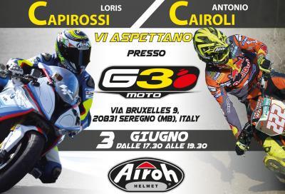 Incontra Cairoli e Capirossi a Seregno il 3 giugno!