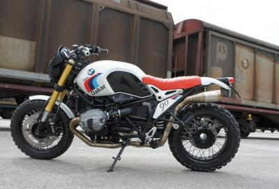 BMW R nineT scrambler: ispirata alla Parigi-Dakar